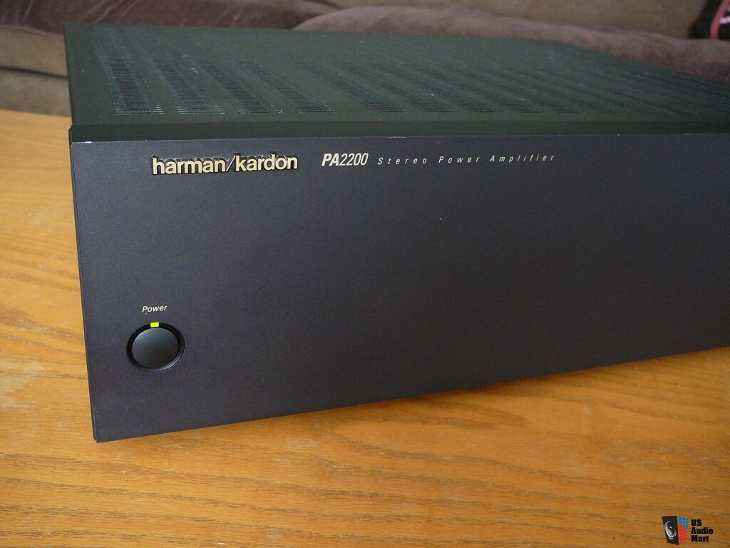 harman kardon pa2200 stereo mono power amplifier photo. Black Bedroom Furniture Sets. Home Design Ideas