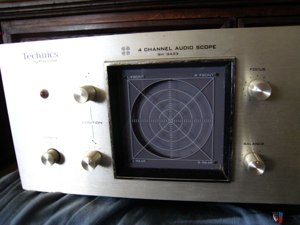 Best Oscilloscope For Audio : Technics sh channel scope photo  us audio mart