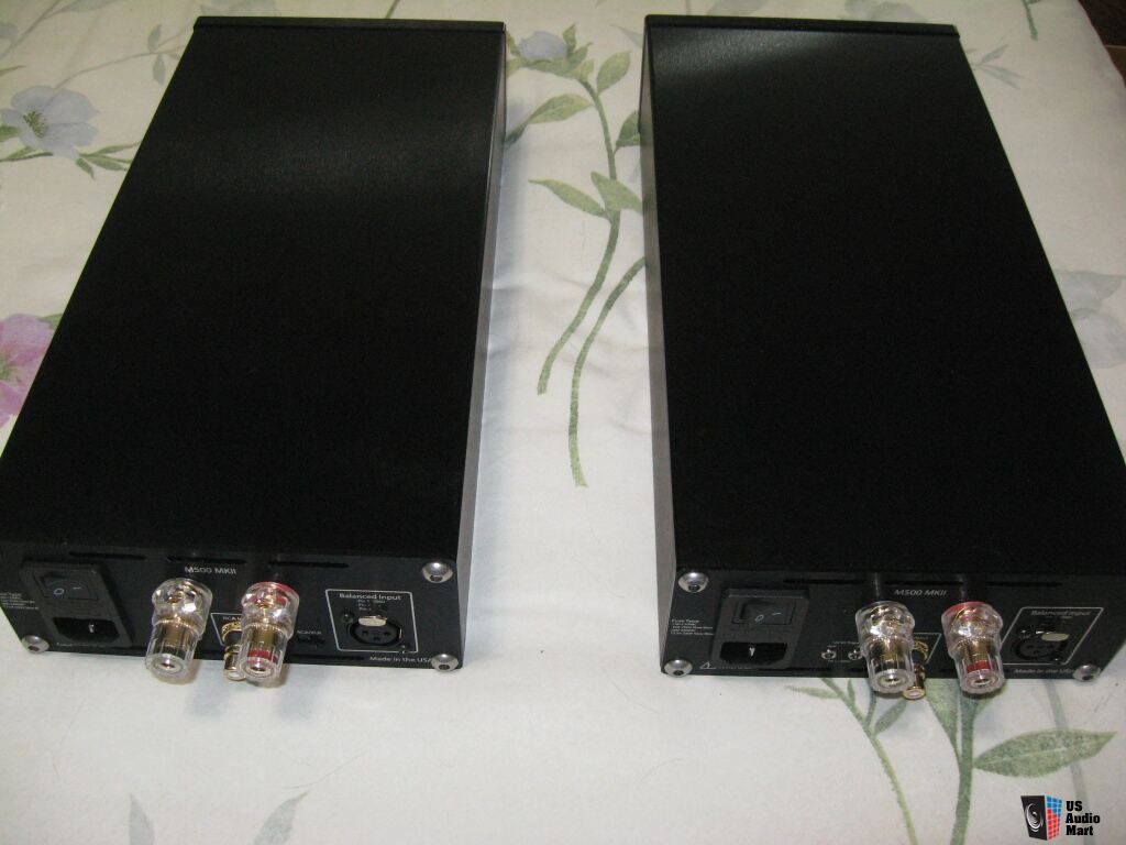 Red Dragon Audio M500 MK II monoblock amplifiers Photo ...