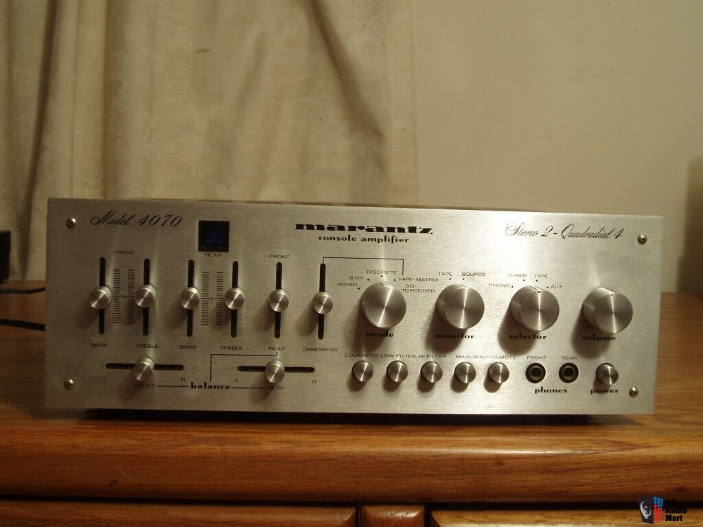 marantz 4070 integrated quadraphonic amplifier w  pre amp