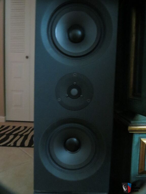 Linn Keilidh Speakers With Ku Stone Stands For Sale Photo