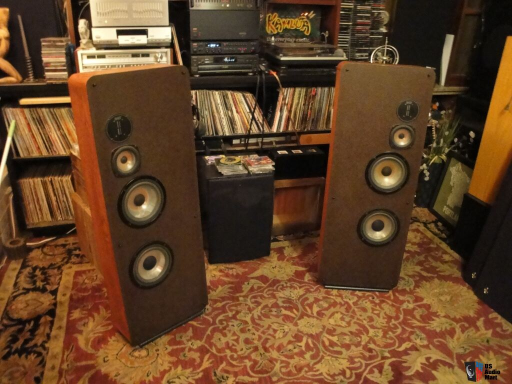 Infinity Rs Iii Reference Standard Speakers Circa 1981