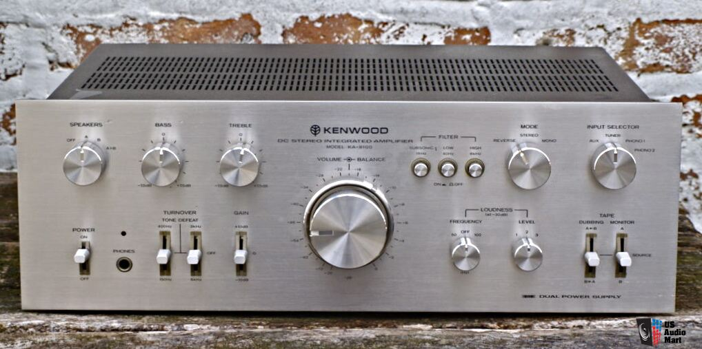 Kenwood Vintage Integrated Amplifiers