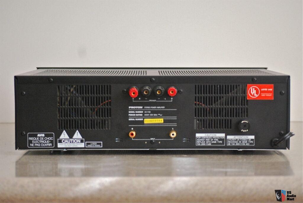 Rare Proton AA-1150 Dual Mono Power Amplifier Photo #671719 - Canuck