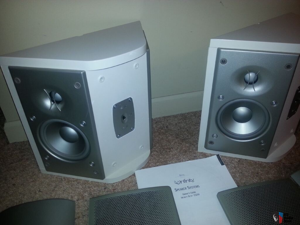 infinity surround speakers. infinity beta es 250 bipole dipole surround speakers pair 0