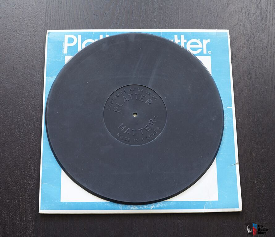 Platter Matter Turntable Mat Very Good Condition Photo