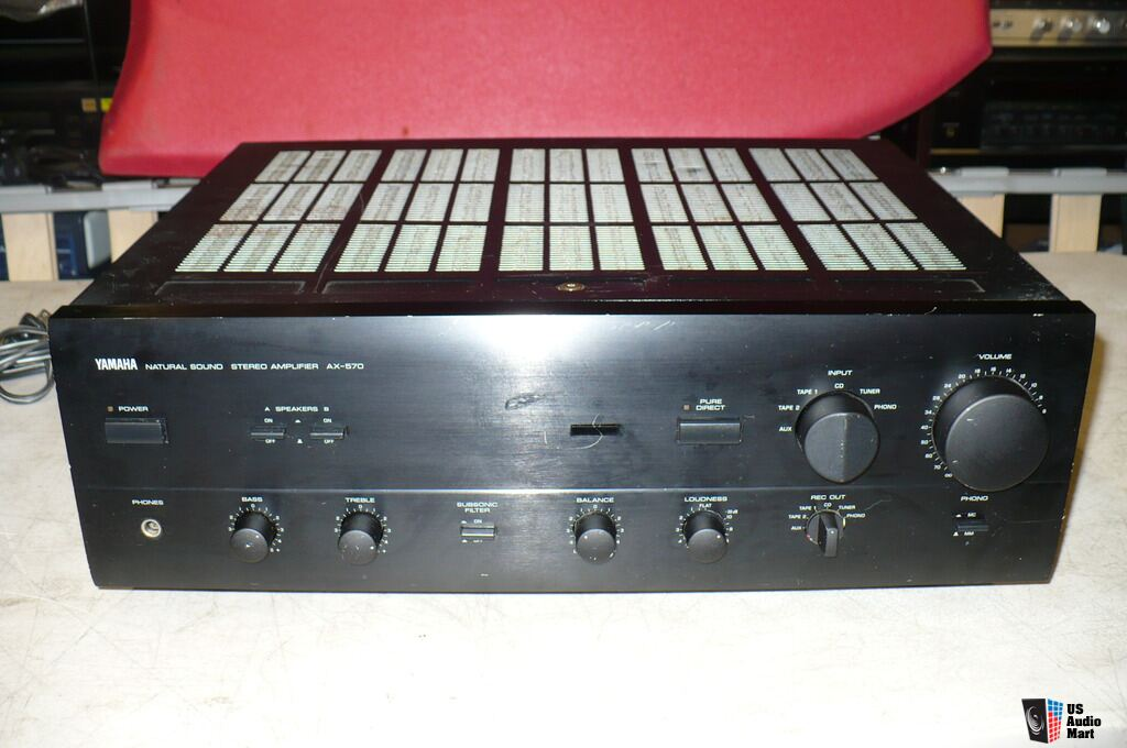 Yamaha Ax 570 Natural Sound Integrated Amplifier Photo