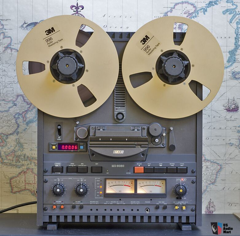 Otari Mx5050 Bii 2 Reel To Reel Professional Tape Recorder
