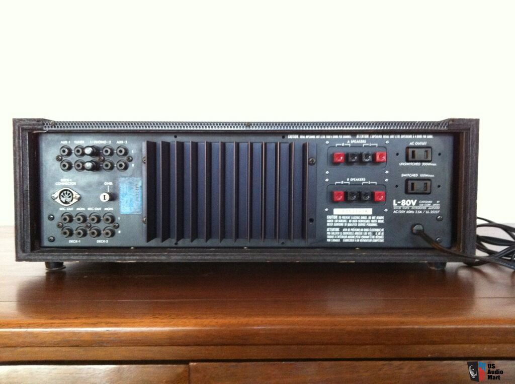 Beautiful Vintage Luxman L 80v Integrated Amplifier Photo