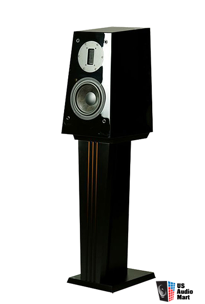 Lawrence Audio Party I Monitors with Stands / DEMO in Mint Condition / Piano Black
