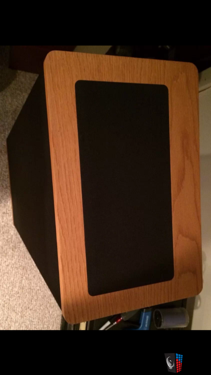 Vandersteen 2Ce Signature nice oak with black cloth
