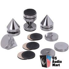 NEW Satin Nickel Isolation Cones, set of four,  Dayton Audio Reduced