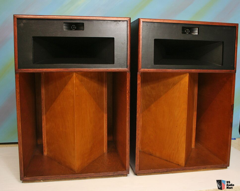 klipsch la scala speakers in beautiful condition photo 824521 us audio mart. Black Bedroom Furniture Sets. Home Design Ideas