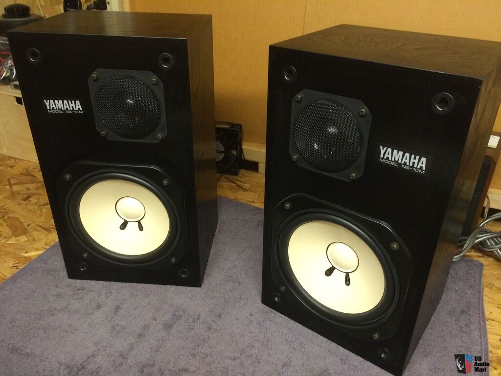 Legendary yamaha ns 10m stereo speakers close field for Yamaha stereo systems