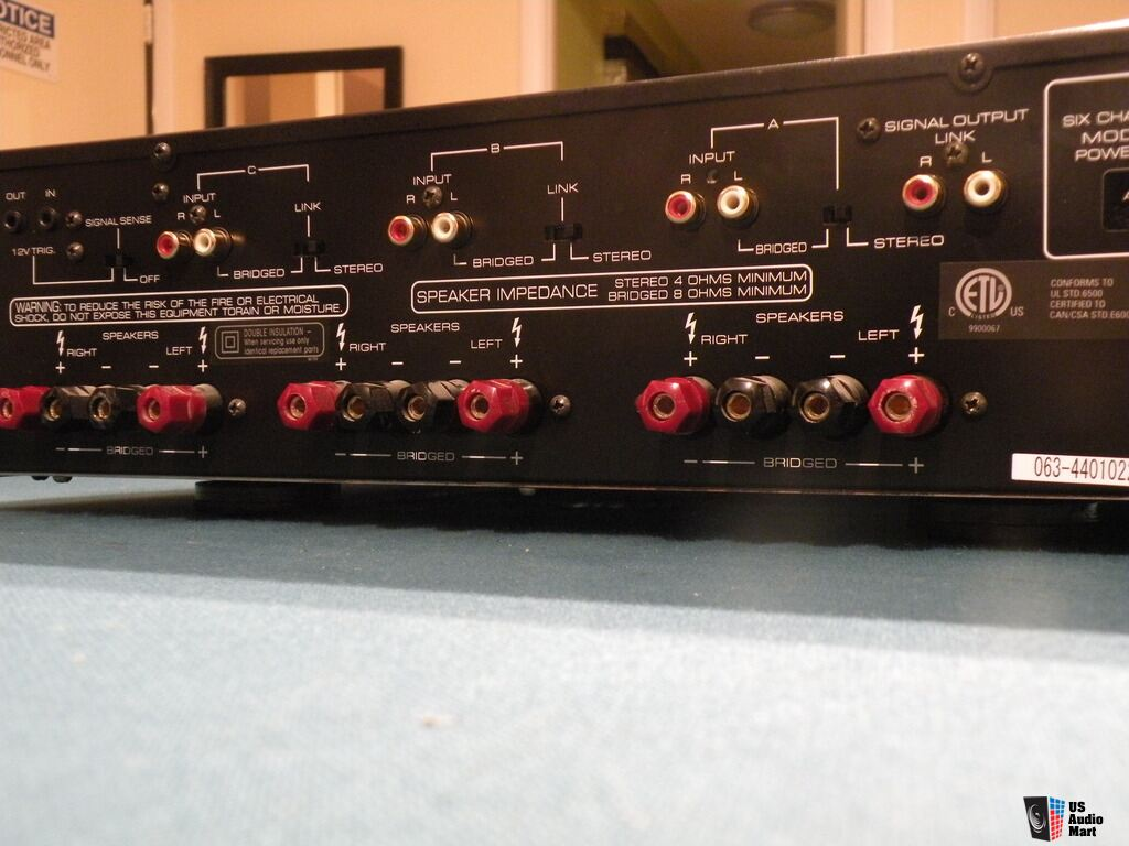 Rotel Power Amplifier Rmb 1066 Price Lowered Photo