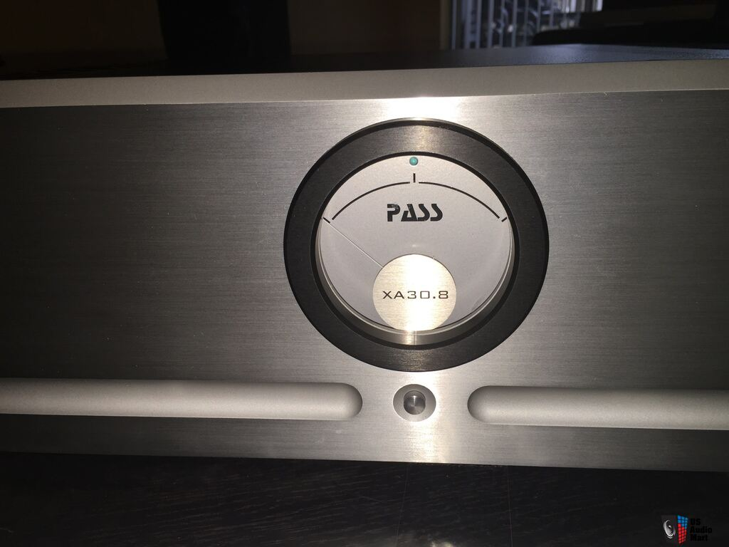 PASS LABS XA 30 8 CLASS A STEREO POWER AMPLIFIER (will trade