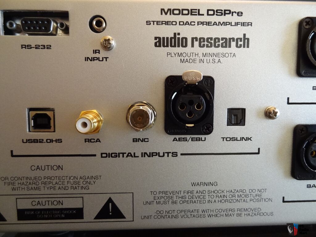 Audio Research DSpre pre amplifier with Built in Dac Photo ...