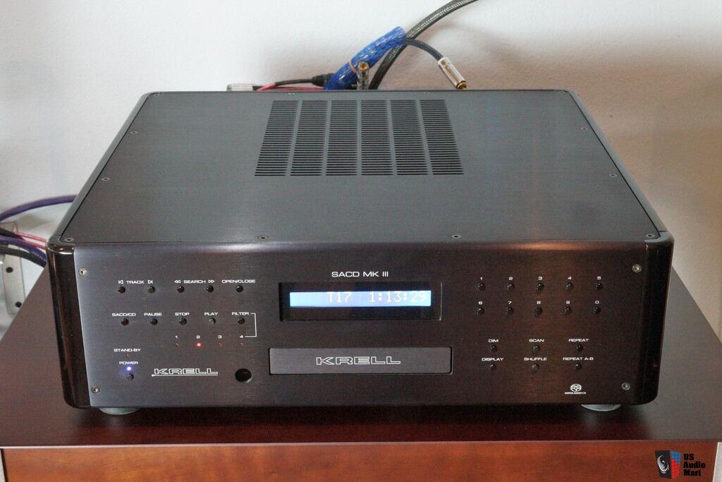 Krell SACD MkIII Cd/SACD player Photo #918814 - US Audio Mart