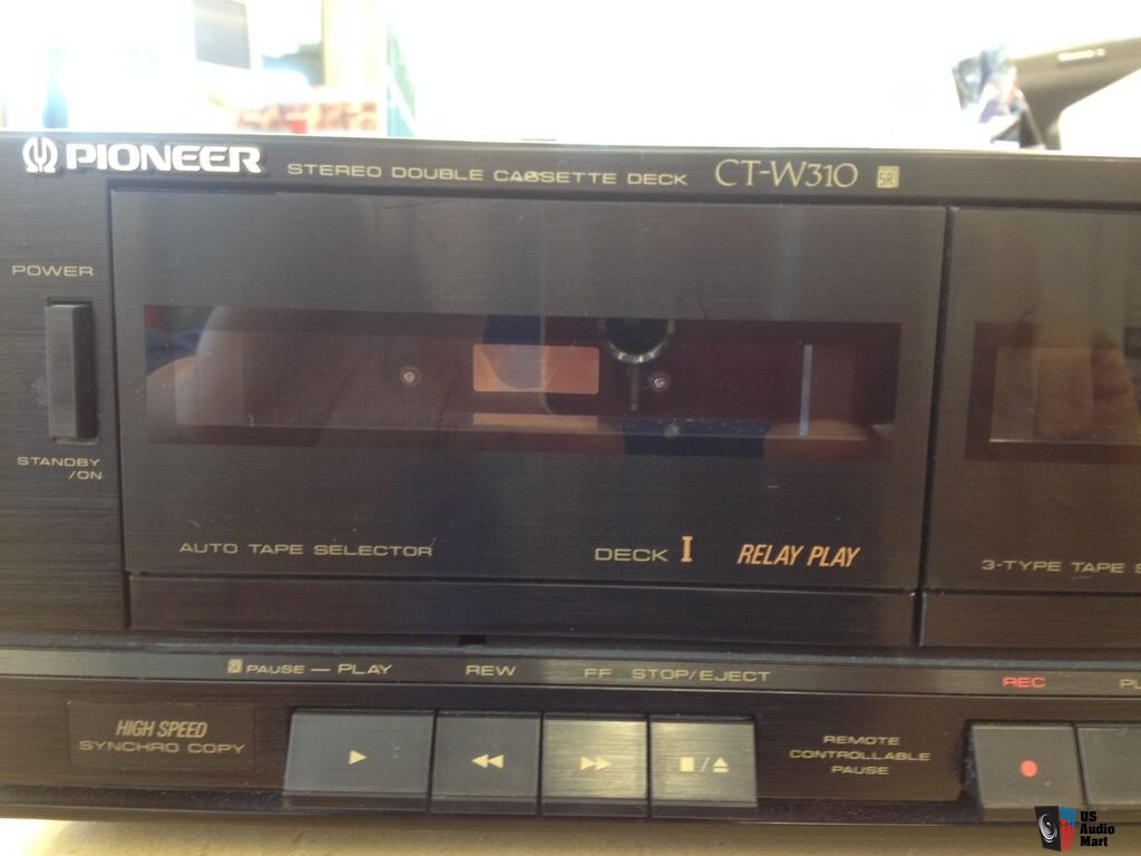 Pioneer ct w310 dual cassette deck w dolby noise reduction for Balcony noise reduction