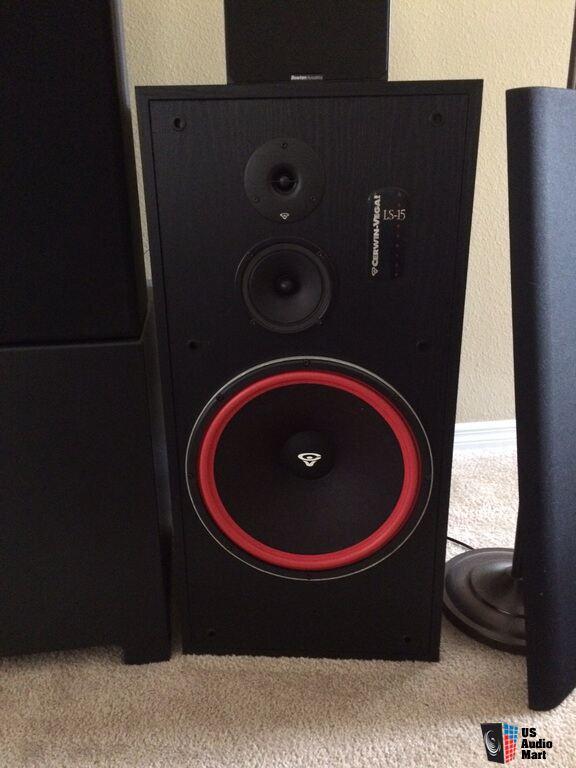 Cerwin vega ls 15 floor standing speakers photo 948783 for 12 floor speaker