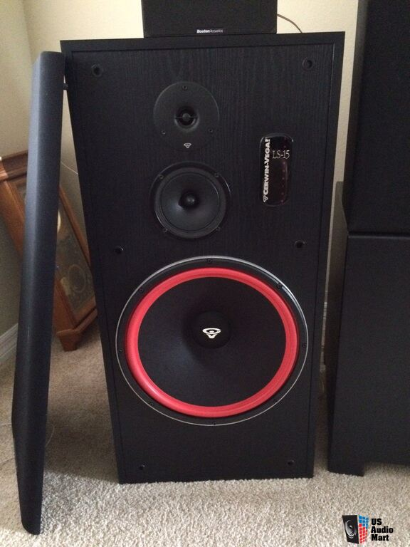 Cerwin Vega Floor Speakers Cerwin Vega Ls-15 Floor
